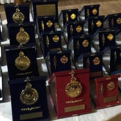 Τα μετάλλια της απονομής