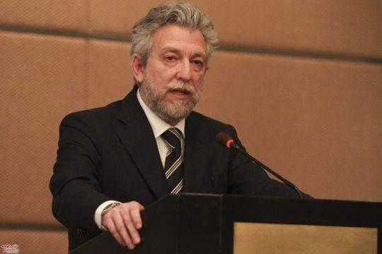 Στην εκδήλωση παραβρέθηκε ο Υπουργός Αθλητισμού, Σταύρος Κοντονής