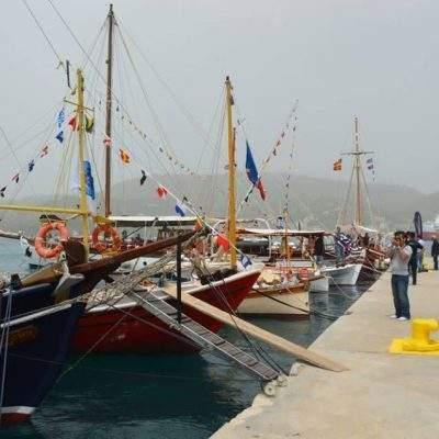 Το Σαλόνι Παραδοσιακών Σκαφών στον Πόρο