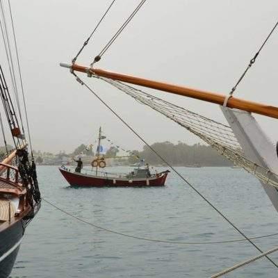 Ναυπηγημένο στον Μαραθόκαμπο τη Σάμου το 1910, είναι πιθανότατα το τελευταίο Τσερνίκι του Αιγαίου