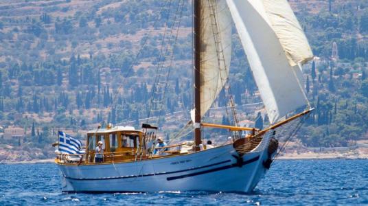 Spetses Classic Yacht Regatta 2017
